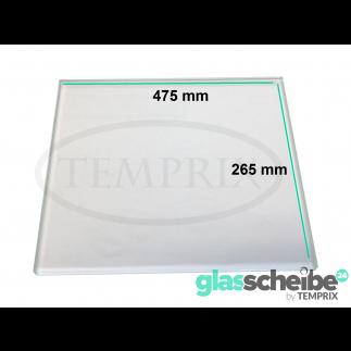 Einlegeboden für Kühlschrank 475 x 265 x 4 mm