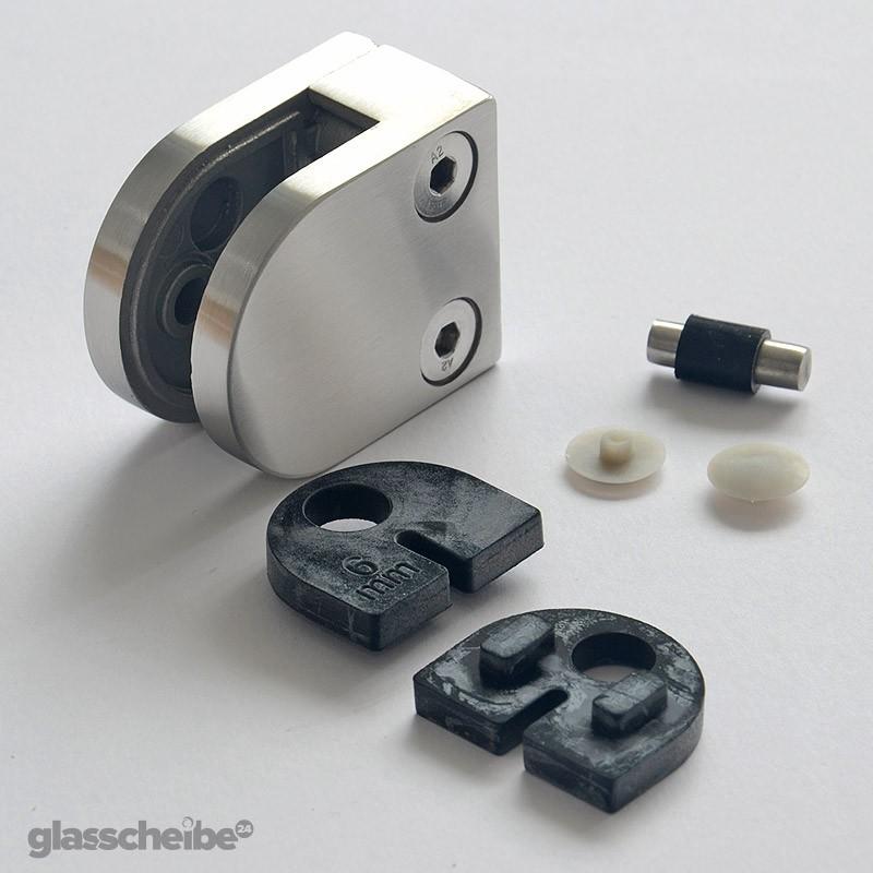 glashalter halbrund geb rstet glashalter glashalter aus edelstahl edelstahlglashalter. Black Bedroom Furniture Sets. Home Design Ideas