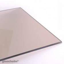 Braunglasplatte
