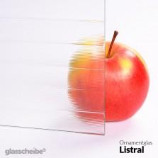 Ornamentglas Listral