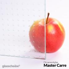 Ornamentglas Master Carre
