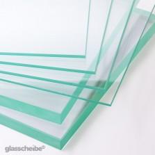 Glasscheiben transparent