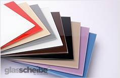 Glasscheiben lackiert Lackiertes Glas lackierte Scheibe Küchenrückwand