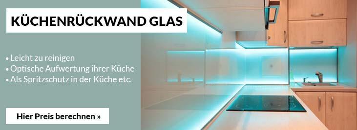Küchenrückwand Glas